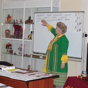 Занятия по хантыйскому языку